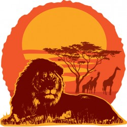 "Sticker ""Kenya 1"""