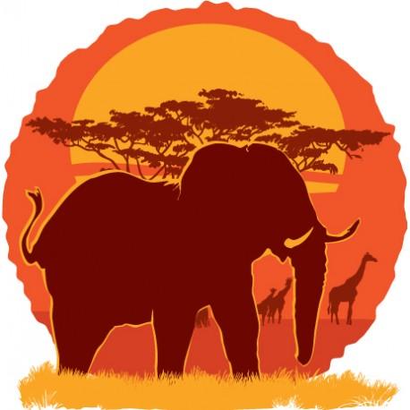 """Sticker """"Kenya 2"""""""