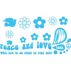 Sticker Peace Big