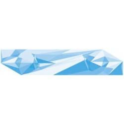 Sticker Reflet Bleu