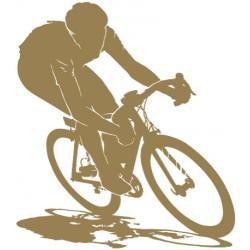 Sticker Cycliste